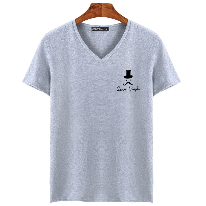 Men's   t     shirt   men Brand   T     Shirt   V neck Hat Printed   T     Shirts   Summer Casual High Quality Hipster tee   shirts   Men