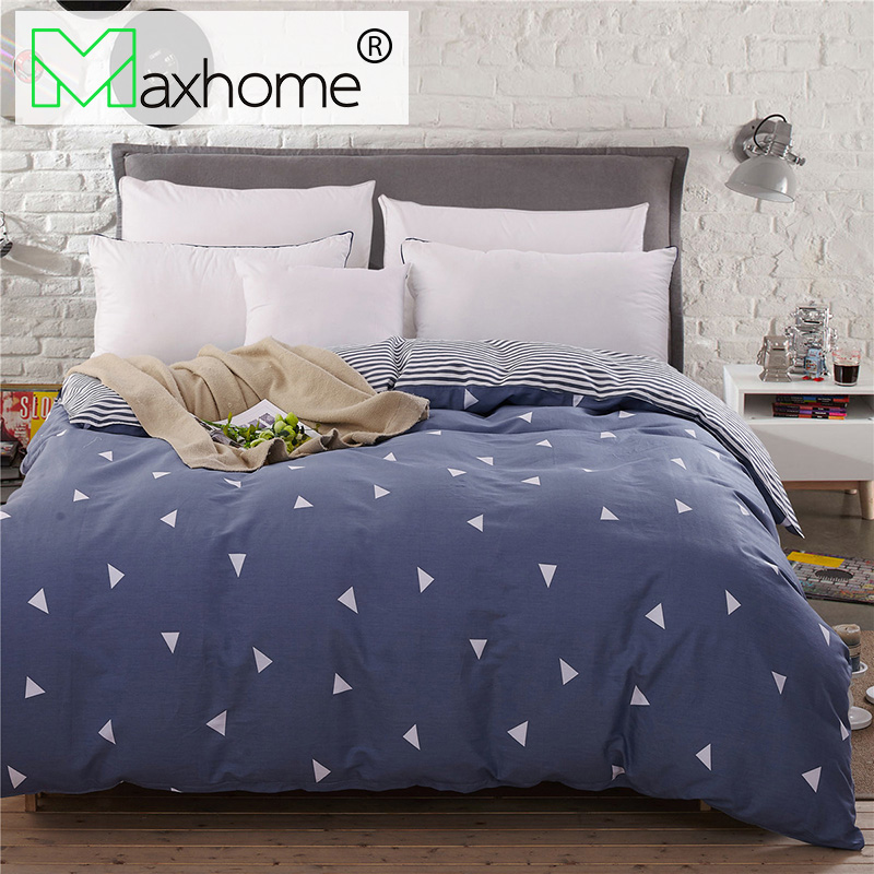 Printed Duvet Cover 100% Polyester Bed Cover Quilt Cover for Bedding Room Reactive Printing Queen 150x200CM King 5 Pattern