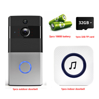IP Video Intercom WI-FI Video Door Phone Door Bell WIFI Doorbell Camera For Apartments IR Alarm Wireless Security Camera 9