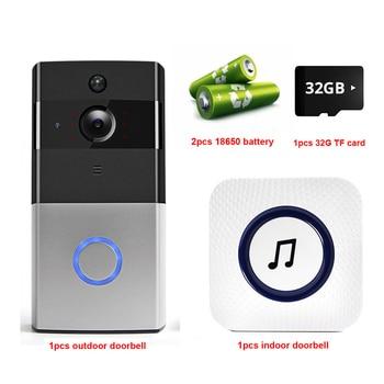 IP Video Intercom WI-FI Video Door Phone Door Bell WIFI Doorbell Camera For Apartments IR Alarm Wireless Security Camera 9