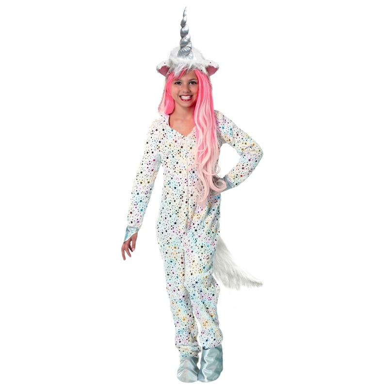 Halloween Girls Unicorn Costume Magical Children Animals Cosplay Clothing