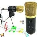 1 ШТ. Новый Pro Audio Динамический USB Конденсатор Звукозаписи Вокальный Микрофон Микрофон