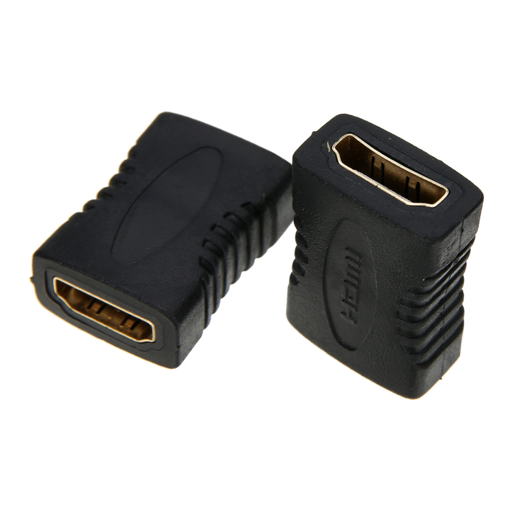 5pcs New HDMI Female to Female Extender Coupler Adapter Connector F/F Suitable For HDTV Mayitr