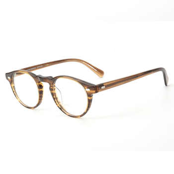 Gregory Peck OV5186 Vintage Eyeglasses Women Clear Frame Men Round Glasses Optical Frame for Prescription Lens  Round Glasses - DISCOUNT ITEM  20% OFF All Category