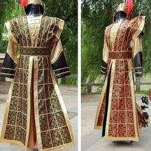Г., халат для мужчин, ханьфу, Династия Хань, костюмы для мужчин, одежда династии, костюмы древний Китай, воюющие Штаты
