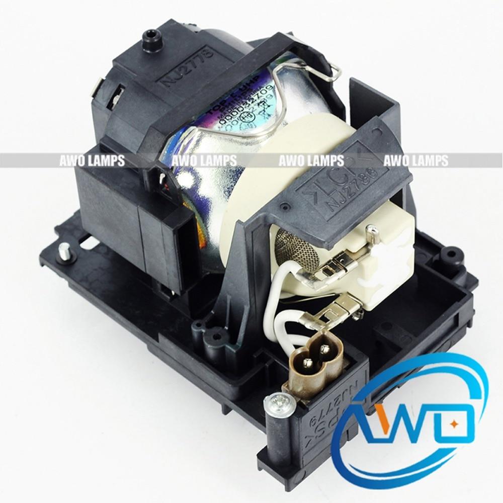 AWO 100% original projektorlampe DT01171 med modul til HITACHI - Hjem lyd og video - Foto 2