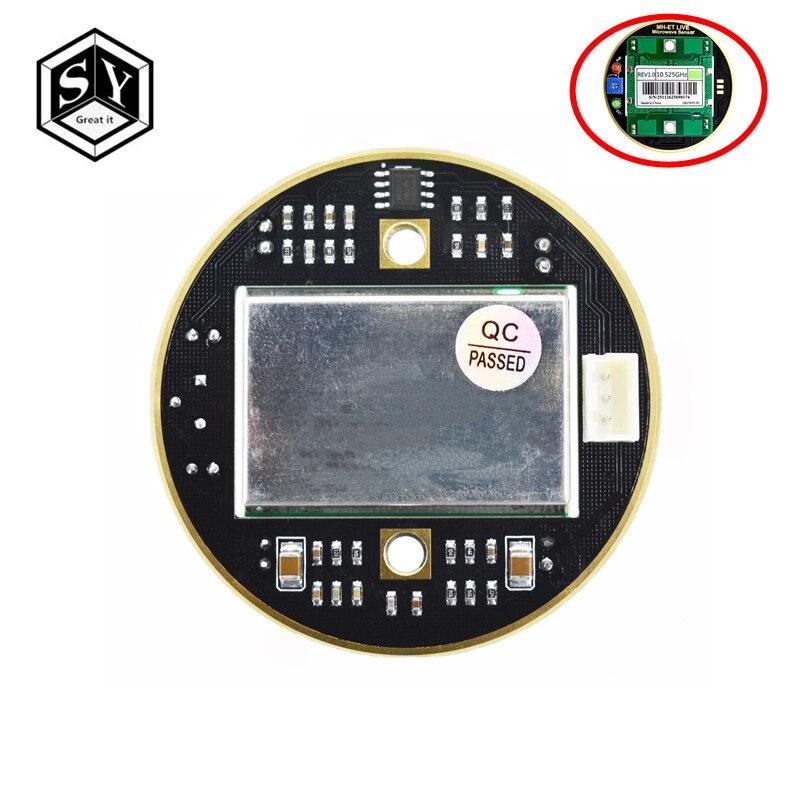 1PCS Grande ELE HB100 X 10.525GHz 2-16M Radar Doppler Microwave Sensor Interruptor de Indução Do Corpo Humano o módulo Para O transporte ardunio