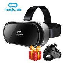 Новый magicsee M1 M2 3D Очки все в одном VR FOV90 Android 5.1 виртуальной реальности 5.5 дюйма VR коробка Очки для 3D игра фильм