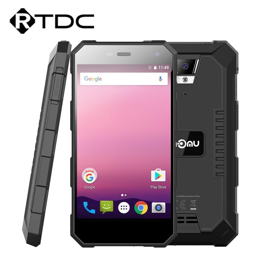 "Original Nomu S10 Pro IP69 Waterproof Mobile Phone 5000mAh MTK6737T Quad Core Android 7.0 5.0""HD 8.0MP 3GB RAM 32GB Quick Charge"