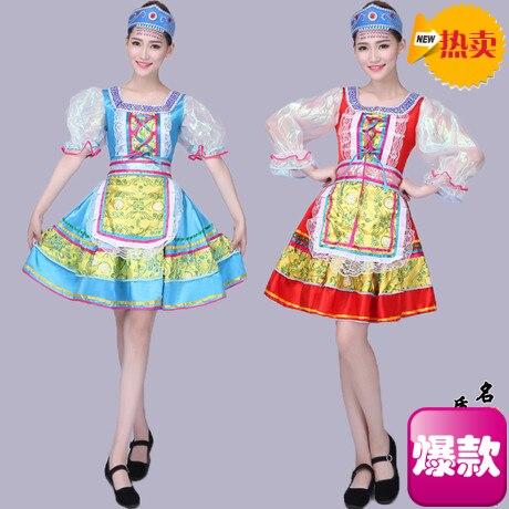 Nouveau Russe costumes Européenne Palais Adulte Maid Robe Princesse Robe Drame Ethniques De Danse De Danse Costume