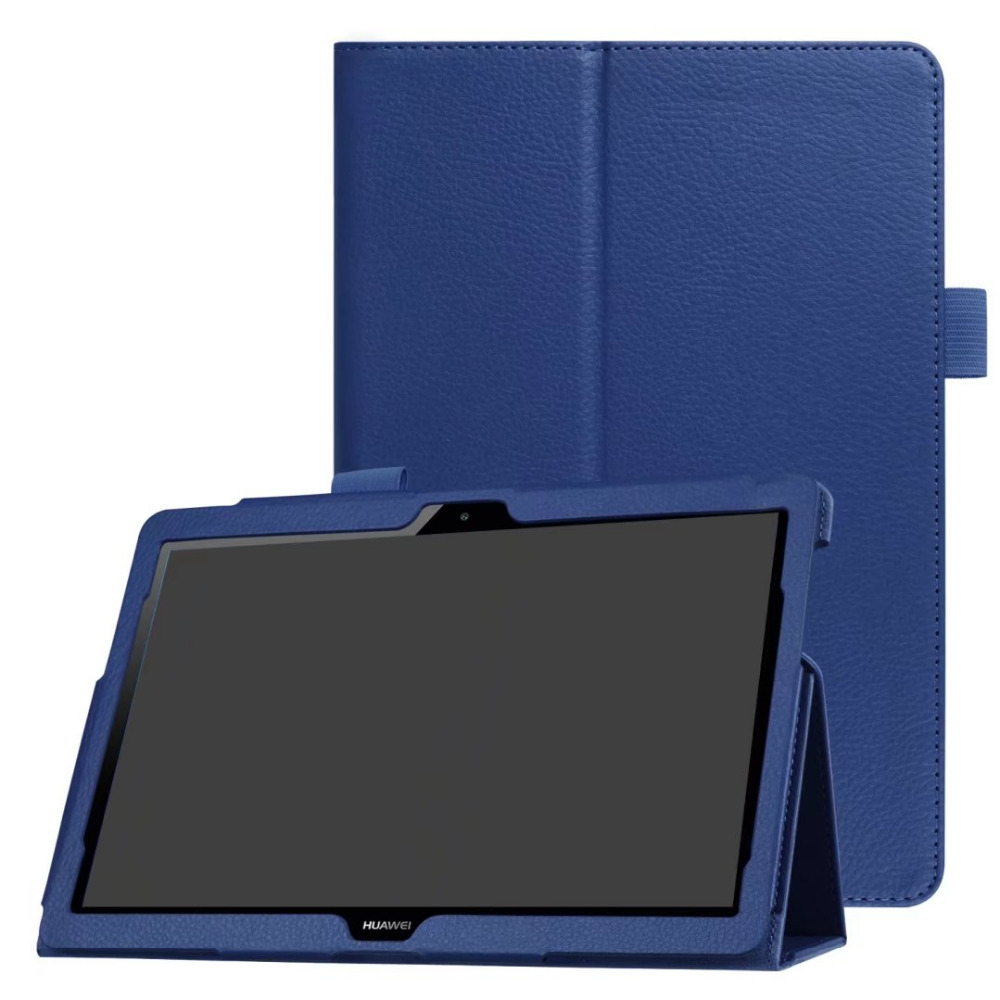 MediaPad T3 10 Litchi Grain PU Leather Stand Flip cover case For Huawei MediaPad T3 10 AGS-L09 AGS-L03 9.6 '' tablet