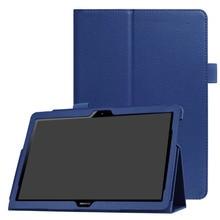 MediaPad T3 10 личи зерна искусственная кожа Стенд флип чехол для Huawei MediaPad T3 10 ags-l09 ags-l03 9.6» планшет