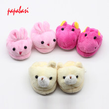 "1Pair Doll slippers fit 18""ch Girl Doll as For 43cm baby Dolls shoes Children best Birthday Gift toys(China)"