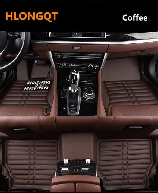 hlongqt auto floor mats for audi a3 s3 limousine 2014 2018 foot step rh aliexpress com Audi All Weather Floor Mats Audi A4 Floor Mats Original