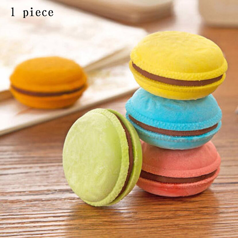 Cute Kawaii Colorful Cake Rubber Eraser Creative Macaron Eraser For Kids Student Gift Novelty Item Student 626 ...