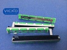 [Vk] Behringer Schat Zak Mixer Soundcraft Folio 4 7.5 Cm 75 Mm D10K D103 D10KX2 Mixer Dubbele slide Potentiometer 15 Mm Schakelaar