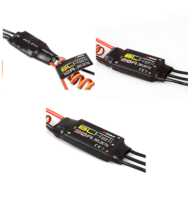 1PCS BLHeli seeria 12A 20A 30A BEC elektrooniline kiiruskontroller Quadcopter drone komplekti jaoks