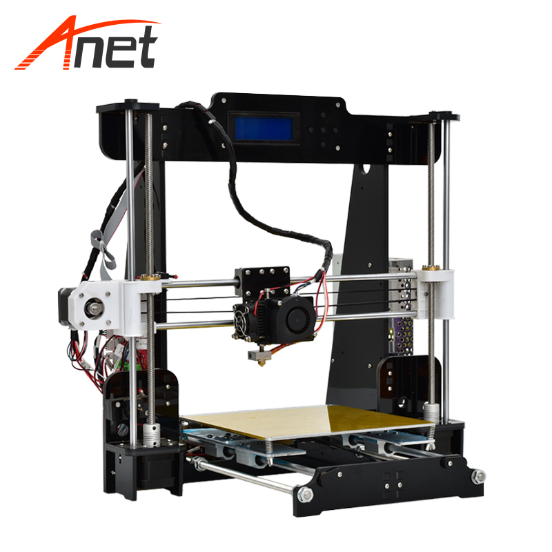 Anet A8 imprimante 3D 0.4mm buse 220*220*240mm grande taille d'impression haute précision bricolage 3D Kit imprimante de bureau sans Filament