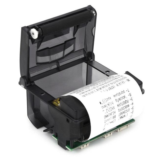 GOOJPRT QR203 58mm Micro Receipt Thermal Printer RS232+TTL Panel Compatible with EML203