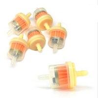 10 Uds. Filtro de combustible/Gas en línea Universal 6 MM-7 MM 1/4