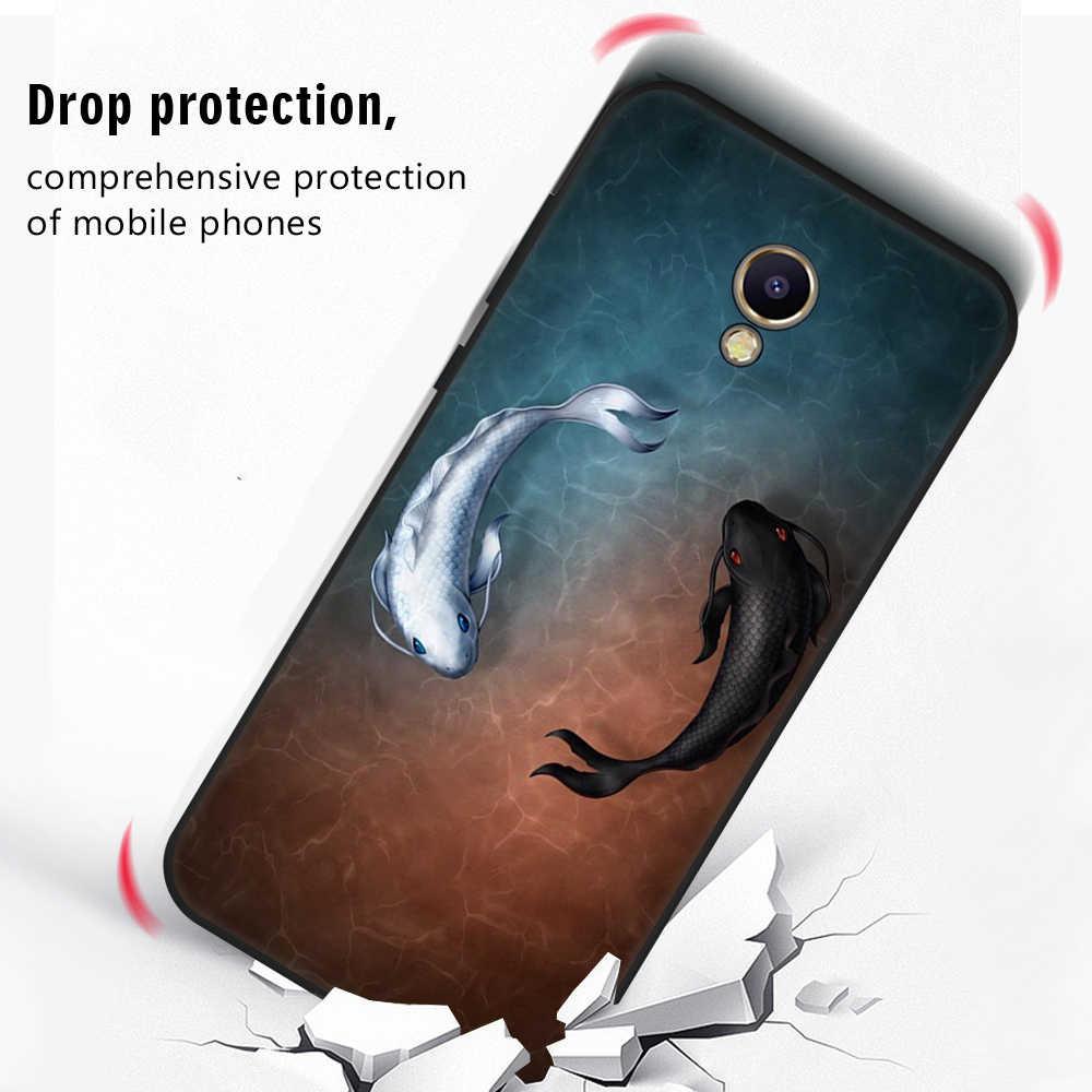 GerTong lindo Cactus teléfono caso para Meizu M5 M6 nota suave TPU Silicon mate cubierta para Meizu M5S m5C Coque Fundas Capa