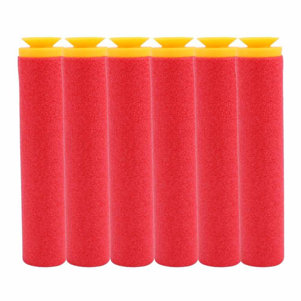 30Pcs 9.5*1.8cm Sniper Rifle Kogels Darts voor Nerf Mega Kinderen Speelgoed Pistool Schuim Refill Darts Grote gat Hoofd Kogels