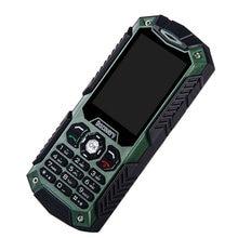 3000mAh Li-ion Battery Power Bank Discovery S6 IP68 Waterproof Unlocked Quad Band Mobile Phone 2 SIM Camera Flashlight