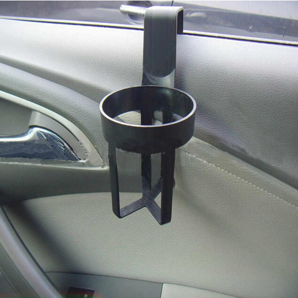 Wysokiej jakości 1 sztuk plastikowe uniwersalne w samochodzie napoje kubek butelka może uchwyt uchwyt na drzwi uchwyt na kubek stojak pasuje do różne przedmioty # P5