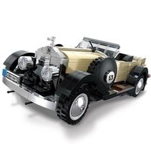 Technic Creator Expert Series Convertible Cars Building Blocks Model Bricks Classic For Children Toys Gift