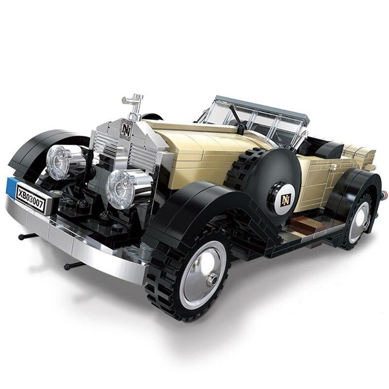 >Technic Creator Expert Series Rolls-Royce Convertible <font><b>Cars</b></font> Building Blocks Model Bricks Classic For Children Toys Gift