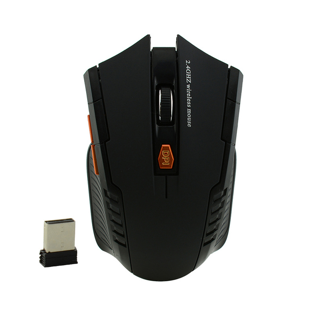 Bts 2.4G Wireless mouse Optical  6 Buttons mouse gamer USB Receiver 1600DPI 10M wireless Mouse  gaming mouse For Laptop computer 4