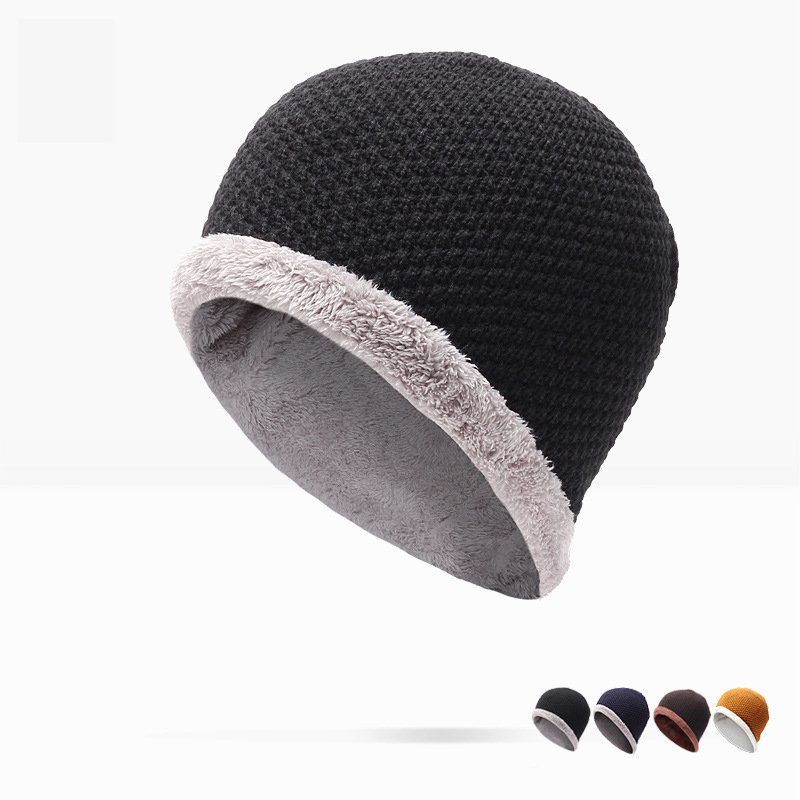 Winter Hat Direct Selling Man And Woman 2017 New Fashion Warm Wool Knitted Hat Korean Style Winter Skullies&beanies Cap For princess hat skullies new winter warm hat wool leather hat rabbit hair hat fashion cap fpc018