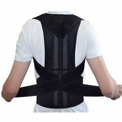 Adjustable Back Brace Posture Corrector Back Support Shoulder Belt Men/ Women AFT-B003 Aofeite