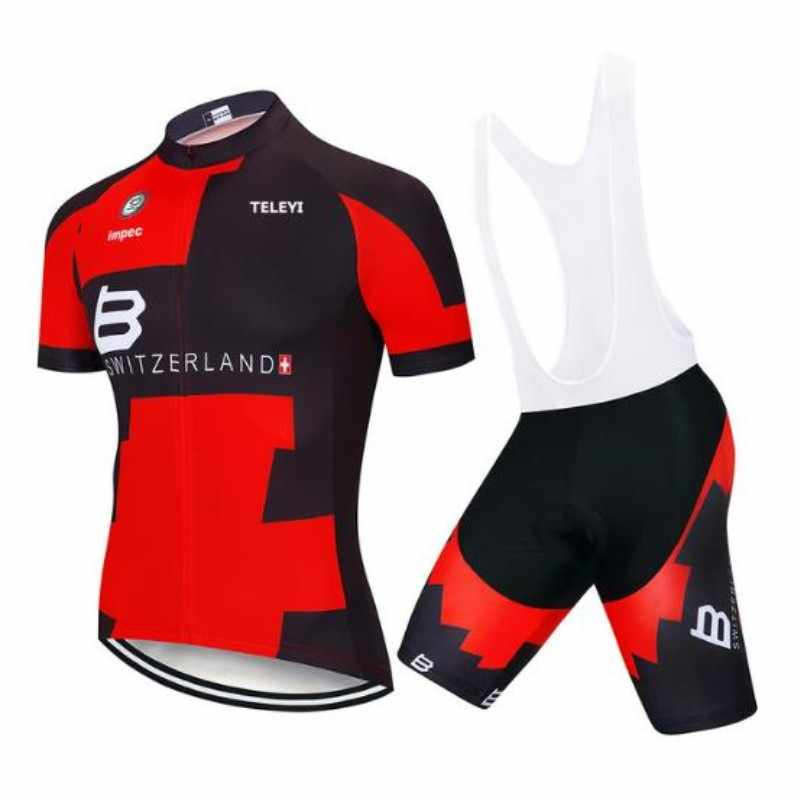 BMC 2019 PRO TIM Musim Panas Bersepeda Jersey Set Sepeda Pakaian MTB ROAD Sepeda De Retro Peta Bib Celana Pendek Bernapas Gel pad