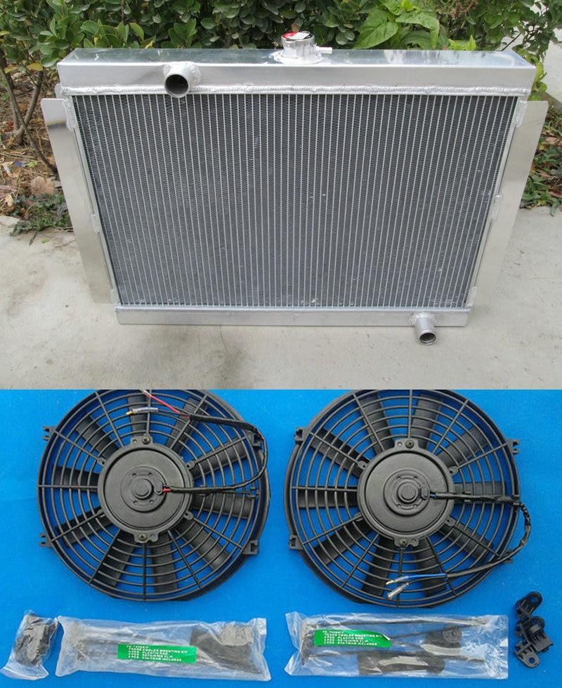 NEW 3 Rows All Aluminum Radiator Fit 1983-1979 Datsun//Nissan 280ZX 280Z