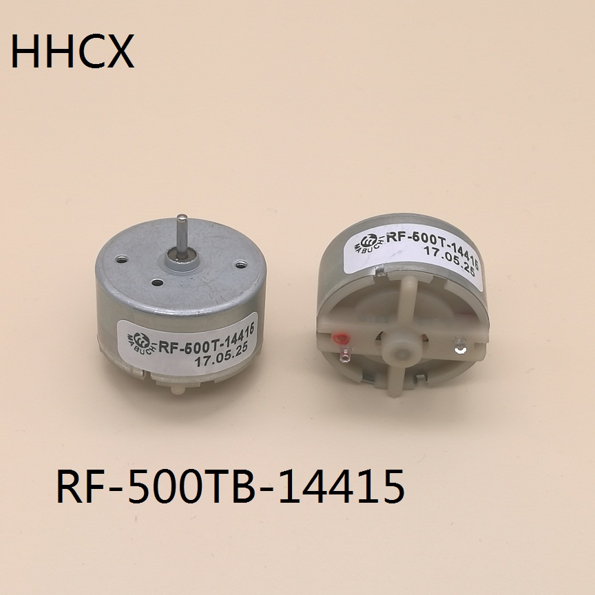 2Pcs Original MABUCHI RF-500TB DC12V Micro DC Motor 5500RPM For Home Appliances