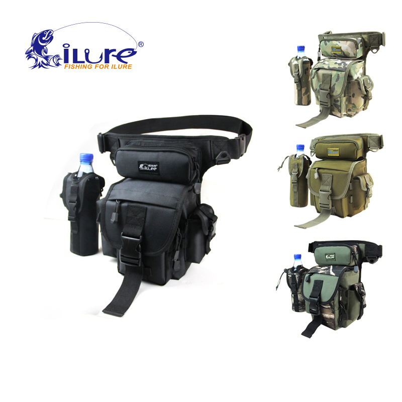 iLure large sport bags multifunctional waterproof fishing tackle tools bag backpack 29*22*12 cm camouflage Pesca Free shipping camouflage outdoor fishing chairs bag foldable 600d oxford peva waterproof layer cool fishing bag multifunctional sport backpack