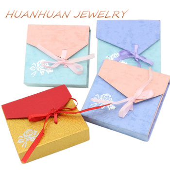 Kraft Paper Gift Box Bracelet Necklace Decorations Wedding Gifts Boxes Honey Friends Party Jewelry Supplies Case Display B3444 10pcs brown kraft paper box gift packing box gift boxes for jewelry wedding necklace jewelry packaging display storage boxes
