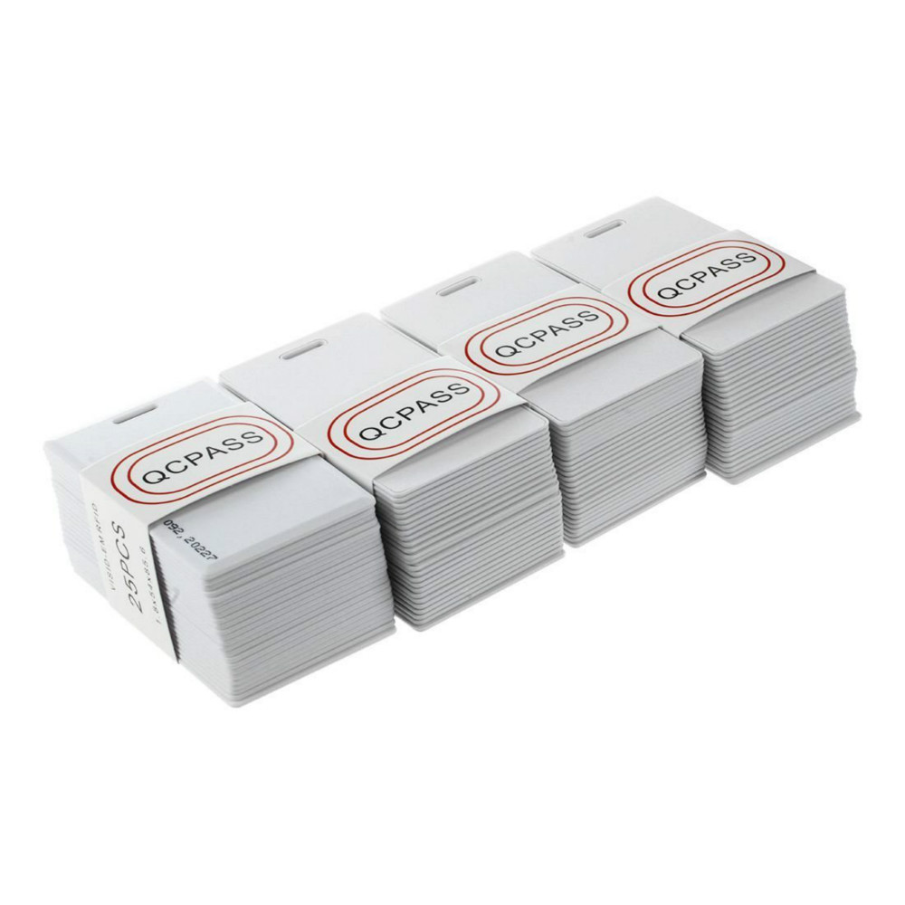 100 Pieces RFID 125KHz Card Proximity Cards TK4100 EM4100 Thick Cardboard Transponder ID Card 1 9
