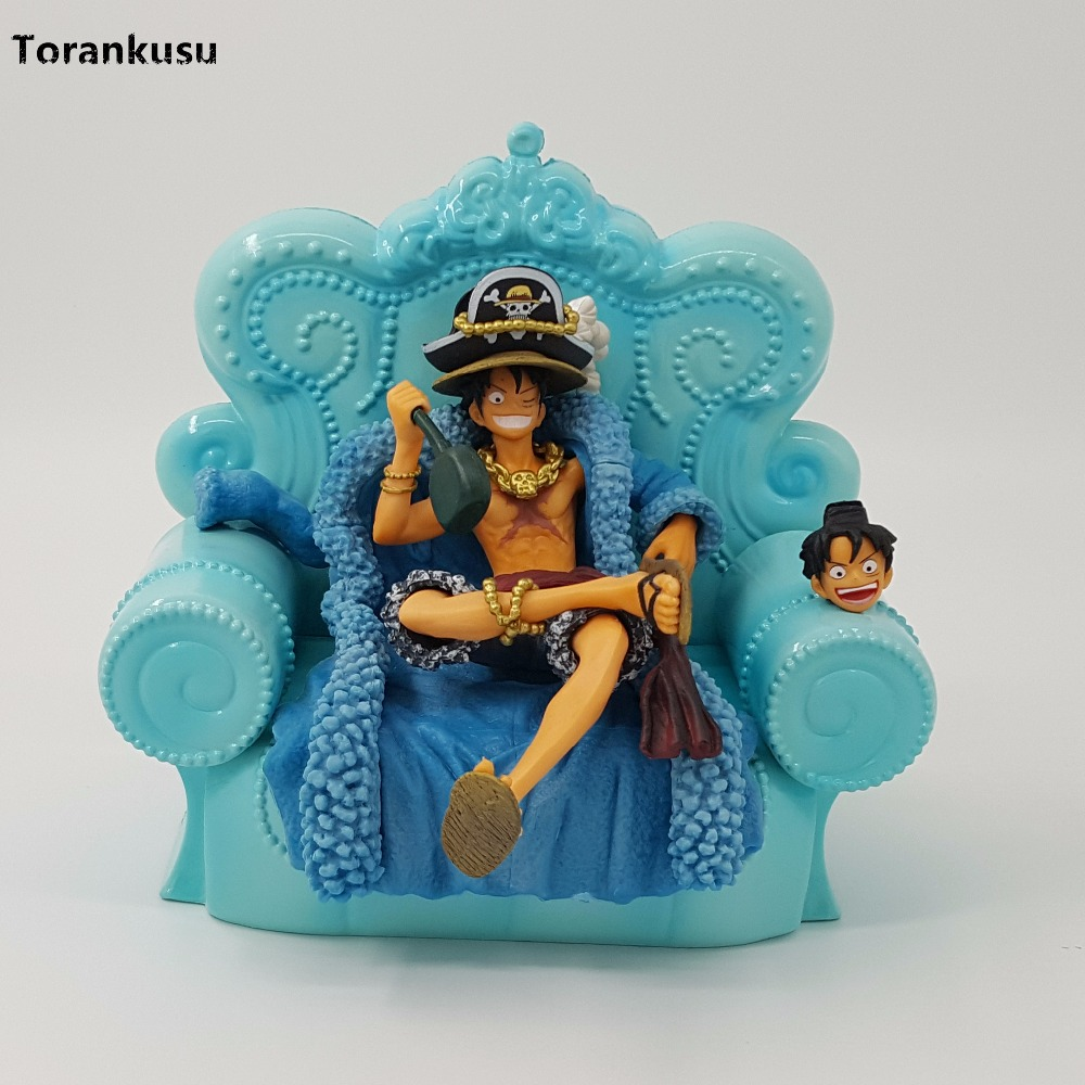One Piece Figure Monkey D Luffy 20 Years Anniversary Ver 15CM PVC Action Figure Anime Toy Collection Model Figurine