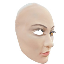 Sunscreen mask Latex Female Real Mask CD Masks Disguise Prank Halloween makeup costume Realistic silicone mask dressing lifelike mask sf 5 silicone skinmask dressing props cd change non toxic factory