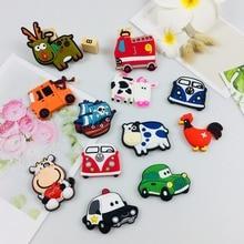 New style promotion Cartoon Animal Transport Tools Fridge Magnet gifts