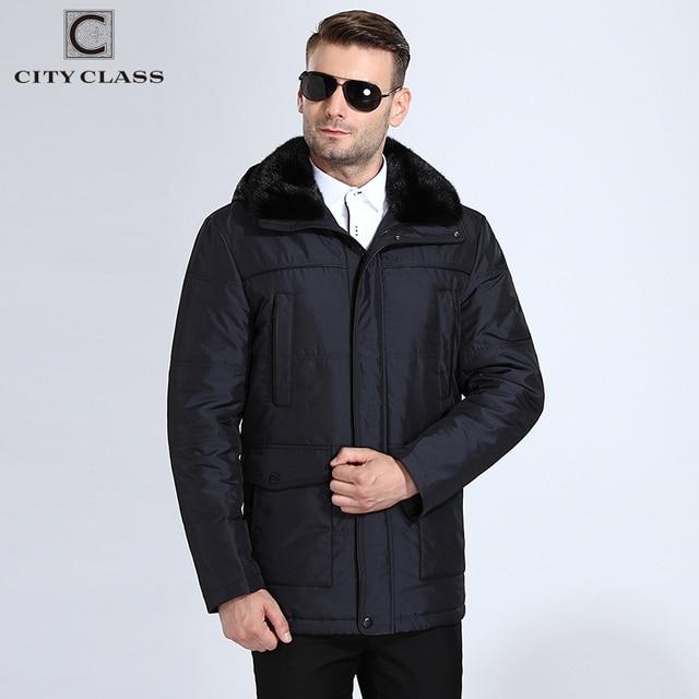 ŞEHIR SıNıF Yeni Erkekler Kalın Sıcak kışlık ceketler Slim Fit Uzun Deve Kıllar Çıkarılabilir Vizon Yaka Kapşonlu Palto Ücretsiz Kargo 15908