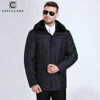 Nueva moda urbana para hombre, chaquetas gruesas de invierno cálido, abrigos con capucha removibles con cuello de visón y Pelo Largo de camellos, envío gratis 15908