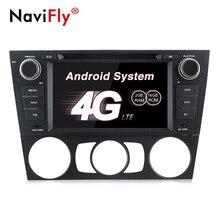 NaviFly pure Android 7.1 Quad Core Car DVD Player GPS Navi per E90 E91 E92 E93 Audio Radio Stereo Capo unità di Trasporto Canbus