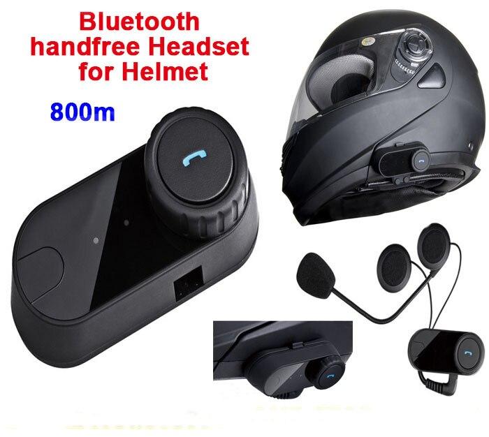 800 m Étanche Full Duplex Moto Casque Bluetooth Casque Main Libre Interphone Ski Casques Interphone Moto Accessoires