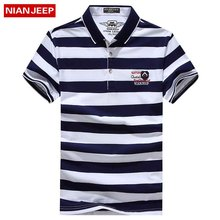 NIANJEEP 2017 Men New Large Size 4XL Polo Shirts Hombre Summer High Quality Fit Polo Shirts Casual Brand Short Sleeve Clothes