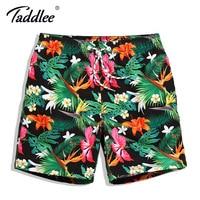 Taddlee Brand Men Board Shorts Swim Beach Boxer Trunks Shorts Quick Drying Men S Swimwear Swimsuits