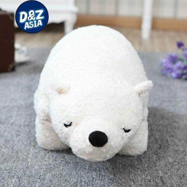 Japan original three polar bear pillow soft plush polar bear plush doll Arctic doll girls