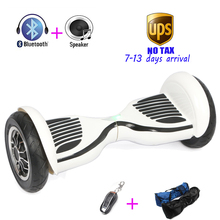 Tax free LED Hoverboard Electric Overboard Oxboard Balancing Scooter Unicycle Mini Skywalker 10 inch Adult Electric Hoverboard